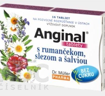 Dr. Müller ANGINAL s rumančekom, slezom a šalviou