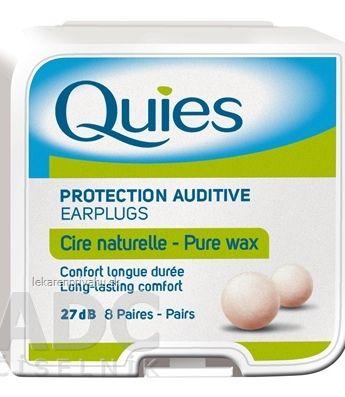 Quies Chrániče sluchu z prírodného vosku