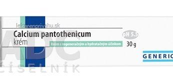 GENERICA Calcium pantothenicum krém
